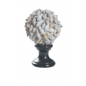 "4"" Sikad Shell Finial"