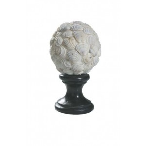 "4"" Neritas Shell Finial~Each"