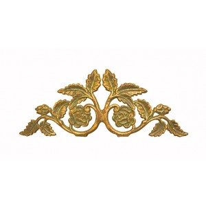 Vivian Crown Drapery Swag Holder~Each