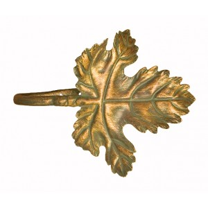 "1057 ""U"" Shape Bend Leaf Tieback/Swag Holder~Each"