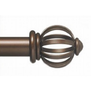 "Crown Ball Single Rod Set ~ 1 1/2"" Diameter"