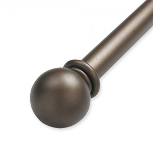 "Iron Ball Double Rod Set ~ 1 1/2"" Diameter"