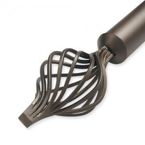 "Terrazzo Double Rod Set ~ 1 1/2"" Diameter"