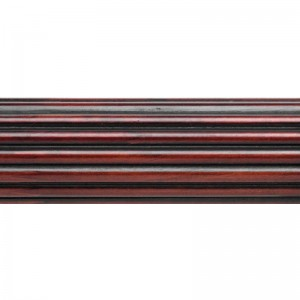 """Select 12' Reeded Curtain Rod ~ 1 3/8"""" Diameter"""