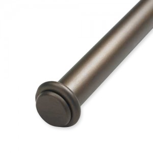 """End Cap Double Rod Set ~ 1 1/2"""" Diameter"""