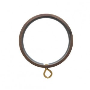 "Flat Curtain Ring with Liner for 1 3/16"" Drapery Rod~Each"