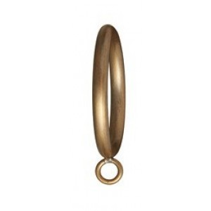 "Metal Curtain Ring for 1 3/8"" Curtain Rod ~ Each"