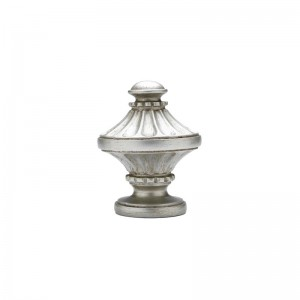 """Imperial Finial for 1 3/8"""" Curtain Rod ~ Pair"""