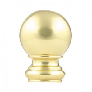 "Ball Finial for 5/8"" Curtain Rod~Each"