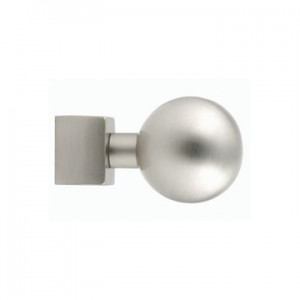 "Ball Finial for 5/8"" Square Curtain Rod~Each"