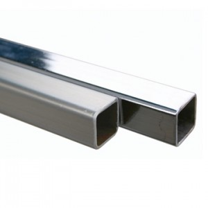 "Plaza 5/8"" Square Tubing 98"" Length"