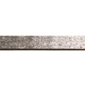 "1"" Square Smooth Steel Curtain Rod (by the foot)"