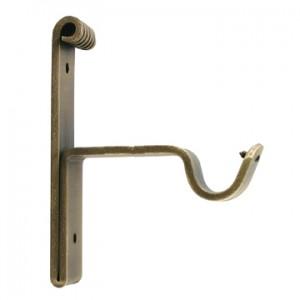 """Medium bracket for 3/4"""" Curtain Rod~3"""" Projection~Each"""