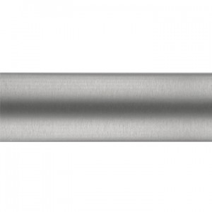 "Brushed Nickel Curtain Rod Tubing~3/4"" Diameter"