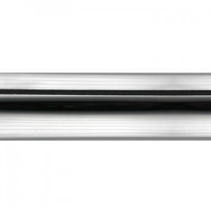 "Polished Chrome Curtain Rod Tubing~3/4"" Diameter"