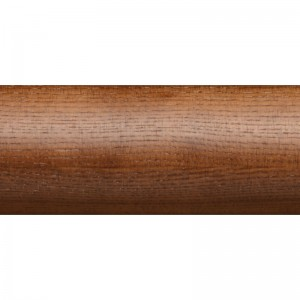 "6' Smooth Wood Curtain Rod~2 1/4"" Diameter"