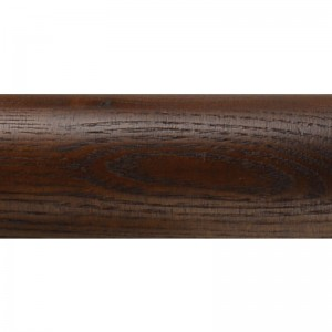 "12' Smooth Wood Curtain Rod~2 1/4"" Diameter"