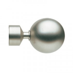 "Velate Finial for 1 3/16"" Curtain Rods~Each"