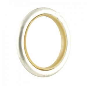 "Curtain Ring with Insert and Clip for 3/4"" Curtain Rods~Each"