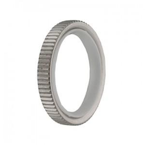 MetalMorphosis Grooved Ring
