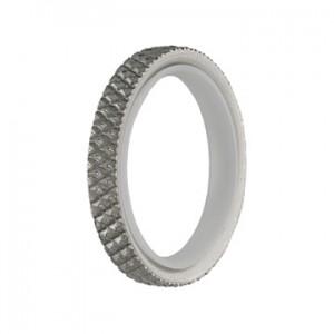 MetalMorphosis Chiseled Ring