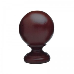 "Ball Finial for 2 1/4"" Curtain Rod ~ Each"
