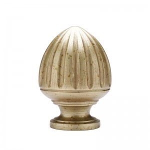 "Acorn Curtain Rod Finial for 2 1/4"" Drapery Rods~Each"