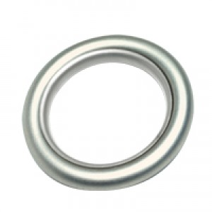 Plastic Lined Ring w/ Clip-on Eyelet