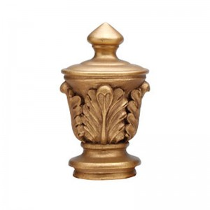 "Liberty Finial for 2 1/4"" Curtain Rod ~ Each"