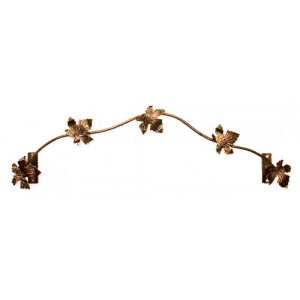 "Grapevine Curtain Rod~1/4"" Diameter (by the foot)"