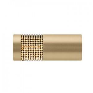 "Vesta European Elegance Kitzbuhel Crystal Final for 1 1/8"" Rod~Each"