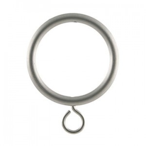 "Curtain Ring with Eye for 1 1/8"" Curtain Rods~Each"