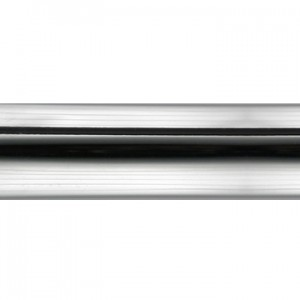 "Polished Chrome Curtain Rod Tubing ~1 1/8"" Diameter (by the foot)"