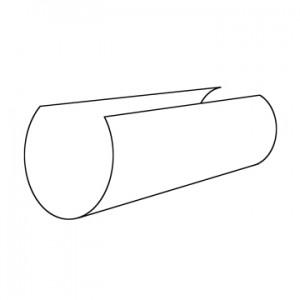 """Vesta European Elegance Tube Splice for 1 1/8"""" Rod~Each"""