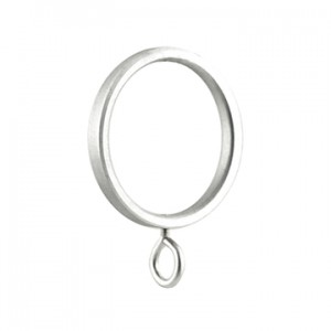 "Flat Ring for 1 1/8"" Metal Drapery Rod"