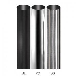 "8' Apollo Steel Curtain Drapery Rod ~ 3/4"" Diameter"