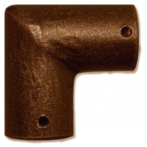 Elbow for Iron Art Curtain Rods~Each