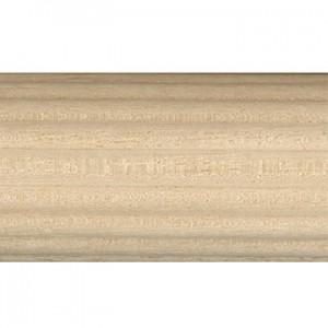 "8' Fluted Wood Pole~2"" Diameter"
