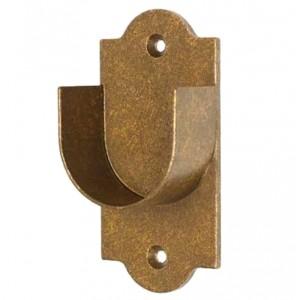 "Inside Mount Adjustable Curtain Rod Set ~ 1"" Diameter"