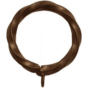 Twisted Iron Ring ~ Each