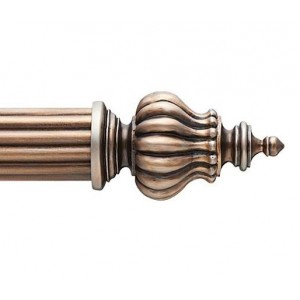 "3RF10 Finial for 3"" Curtain Rod~Each"