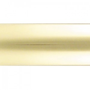 "4' Solid Brass Curtain Rod~1 9/16"" Diameter"
