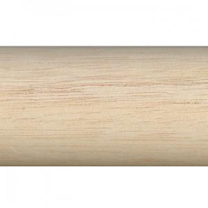"12' Smooth Wood Curtain Rod~1 3/4"" Diameter"