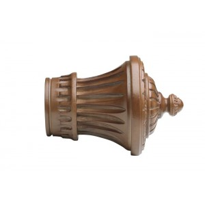 "Kirsch 2"" Wood Trends Charleston Finial~Each"