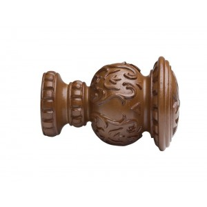 "Kirsch 2"" Wood Trends Reign Finial~Each"