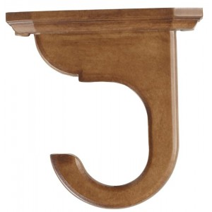 "Kirsch 2"" Wood Trends Ceiling Mount Bracket~Each"