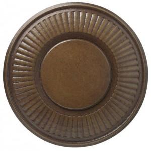 "Kirsch Hazelnut Holdback-3"" Diameter~Pair"