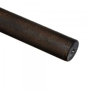 "4' Smooth Metal Pole~1 1/4"" Rod Diameter"