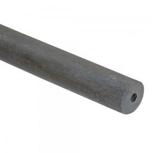 "6' Smooth Metal Pole~1 1/4"" Rod Diameter"
