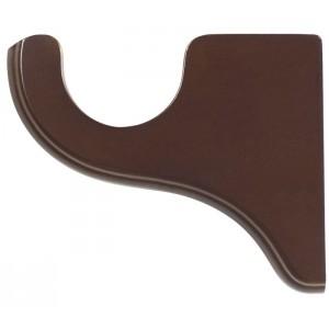 "Kirsch Wood Trends Bracket for 2"" Curtain Rod~3 1/2"" Return~Each"